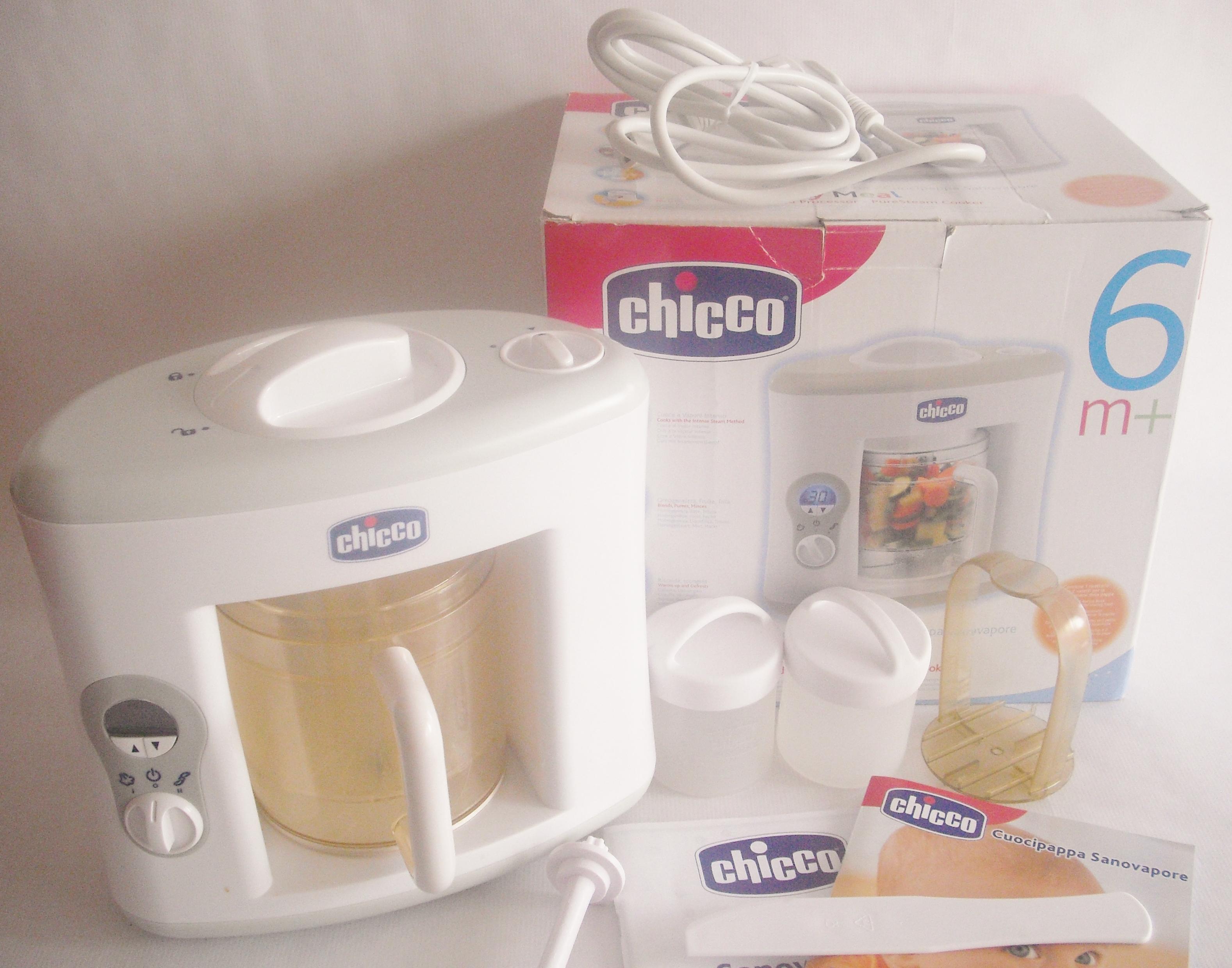 robot de cocina chicco easy meal ref 022 14